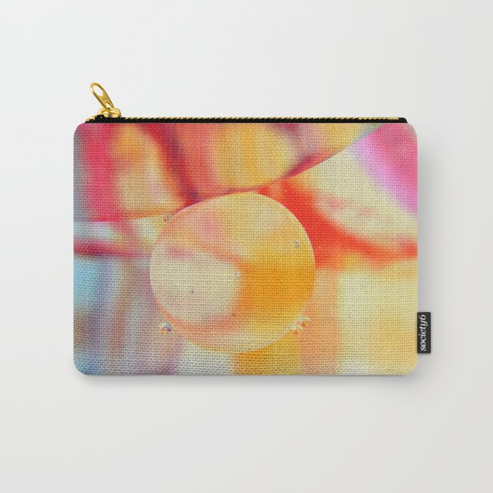 Psychedelic bubble Carry-All Pouch