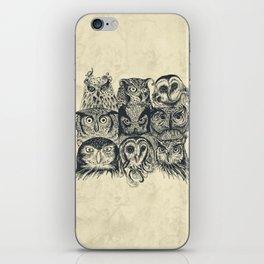 Nine Owls iPhone Skin