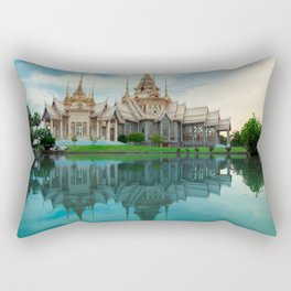 The Mirror In The Lake Rectangular Pillow