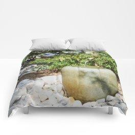 Japanese garden 6 Comforters