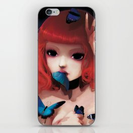 Chew my blue... iPhone Skin