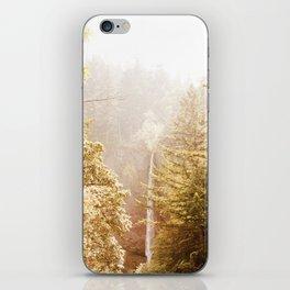 OREGON GORGE WATERFALL iPhone Skin