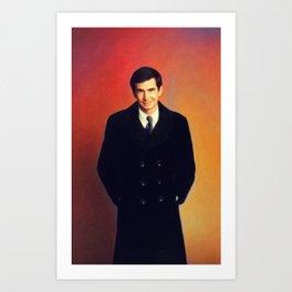 Anthony Perkins, Vintage Actor Art Print