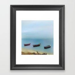 Same Direction Framed Art Print