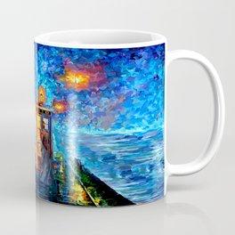 The 10th Doctor Starry The Night Coffee Mug