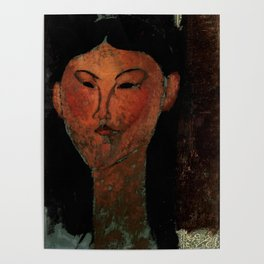 """Amedeo Modigliani """"Beatrice Hastings"""" (1915) Poster"""