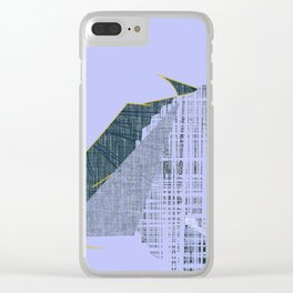 Abstract design looks like animal called pig Clear iPhone Case