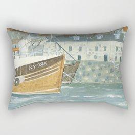 Harbour Cottages Rectangular Pillow