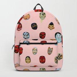 Masks in Asakusa Backpack