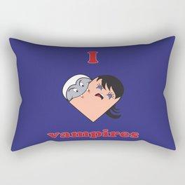 I Heart Vampires Rectangular Pillow