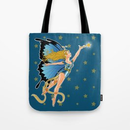 The Blue Faerie Tote Bag