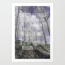 Wordsworth Art Print