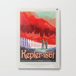 Kepler-186f Metal Print