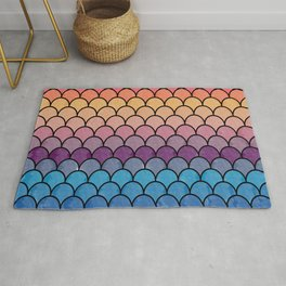 Watercolor Lovely Pattern CI Rug