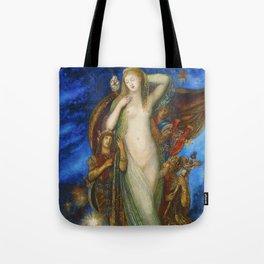 """Gustave Moreau """"Hélène Glorifiée (Helen Glorified)"""" (1896) Tote Bag"""