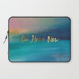 Be Here Now, Ocean Sunrise 4 Laptop Sleeve