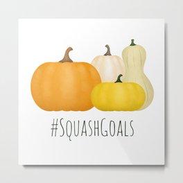 #SquashGoals Metal Print