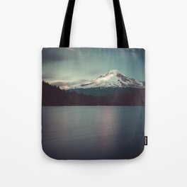 Sunset at Trillium Lake Tote Bag