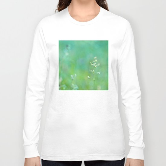 blue grass Long Sleeve T-shirt
