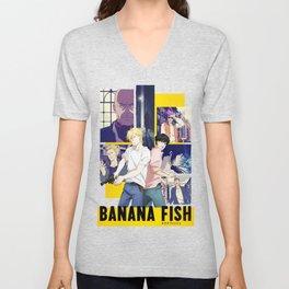 Ash and Eiji - Banana Fish Unisex V-Neck