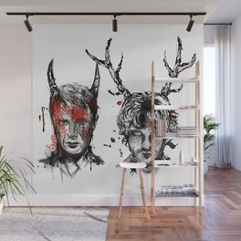 Will and Hannibal Wall Mural