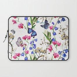Wild Flowers Field Laptop Sleeve