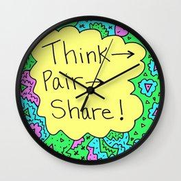 Think, Pair, Share! Wall Clock