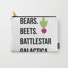 Bears Beets Battlestar Galactica Carry-All Pouch