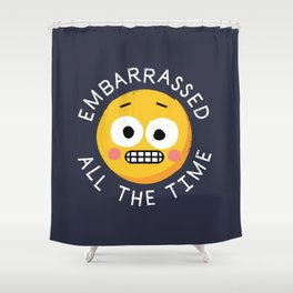 Evermortified Shower Curtain
