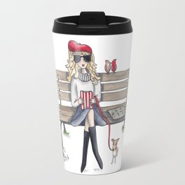 Margaux and Peta in the Jardin des Tuileries Travel Mug