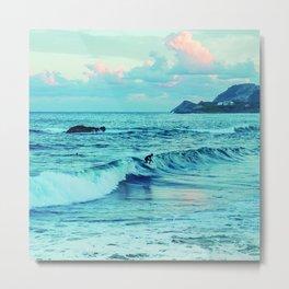 Surf Mallorca lifestyle Metal Print