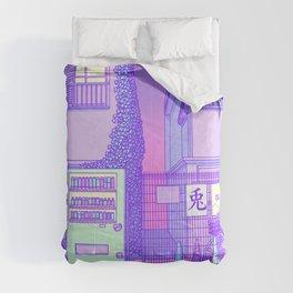 Pastel Tokyo Cats Comforters