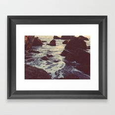 The Sun & The Sea III Framed Art Print
