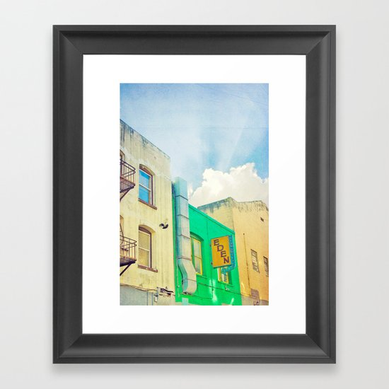 SF Tops 2 Framed Art Print