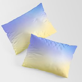 Flag of Ukraine 5 - with cloudy colors Pillow Sham