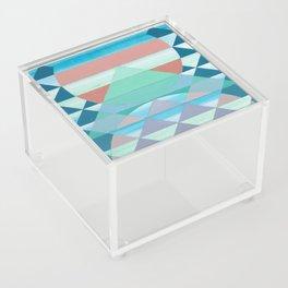 Pyramid Sun Orange Acrylic Box