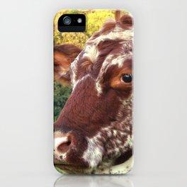 Auburn Beauty iPhone Case