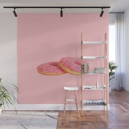 Lovely Donuts Wall Mural