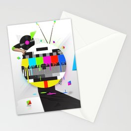 Molten Colour Bars Stationery Cards