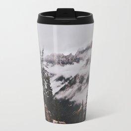 Fog in the Cascades Travel Mug