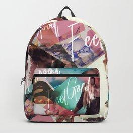Feel Good - geometric Backpack