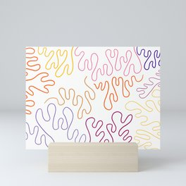 Plum Palette Mini Art Print