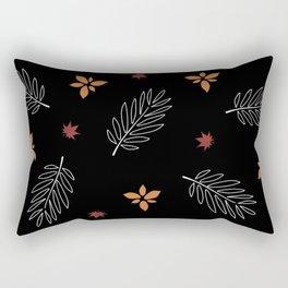 Fall Leaves - Autumn Decor Rectangular Pillow
