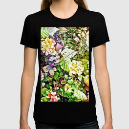 Scattered Blooms And Verdure T-shirt