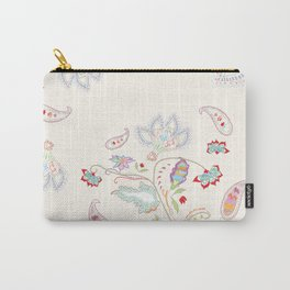 Petite Paisley Collection Carry-All Pouch