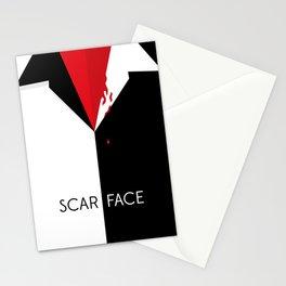 Scarface Minimalist Movie Poster Stationery Cards