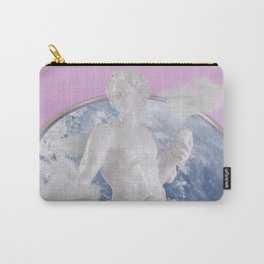 Statue Glazed Carry-All Pouch