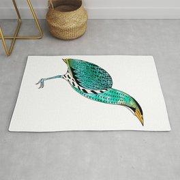 Botaurus Stellaris | Endangered Birds Collection Rug