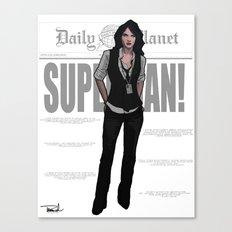 Best Darn Reporter Canvas Print