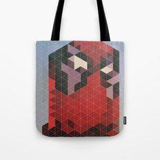 Geometric Deadpool Tote Bag